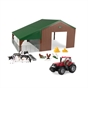 Farm Building Set with Case Tractor