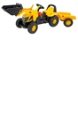 JCB Tractor Loader and Trailer