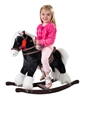 Black Rocking Horse with sounds