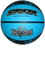 Size 5 Rubber Blue Basketball