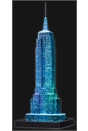 Empire State Building - Night Edition, 216pc 3D Jigsaw Puzzle®