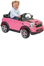 Pink Mini Cooper 6V Electric Ride On with Remote Control