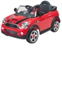 Red Mini Cooper 6V Ride On With Remote Control