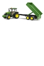 Bruder John Deere 5115M Tractor with Tipping Trailer