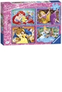 Disney Princess 4x 42pc Jigsaw Puzzle Bumper Pack