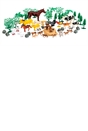 Country Animal Farm 60 Piece Set