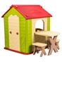 Deluxe Playhouse with Table & Chairs