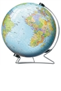 The World on V-Stand Globe 3D Puzzle