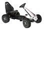 Black & White Rally Go Kart