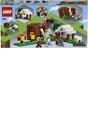 Lego 21159 Minecraft The Pillager Outpost Iron Golem Set