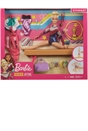Barbie Gymnastics Playset with Doll and Accessories