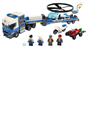 Lego 60244 City Police Helicopter Transport Truck