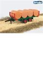 Bruder Bale Trailer with Bales