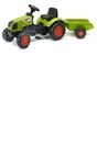 Claas Arion 410 Tractor with Trailer