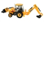 Britains 1:32 JCB 3CX Backhoe Loader