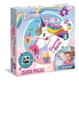 Clementoni Unicorn Clock Puzzle 96pc
