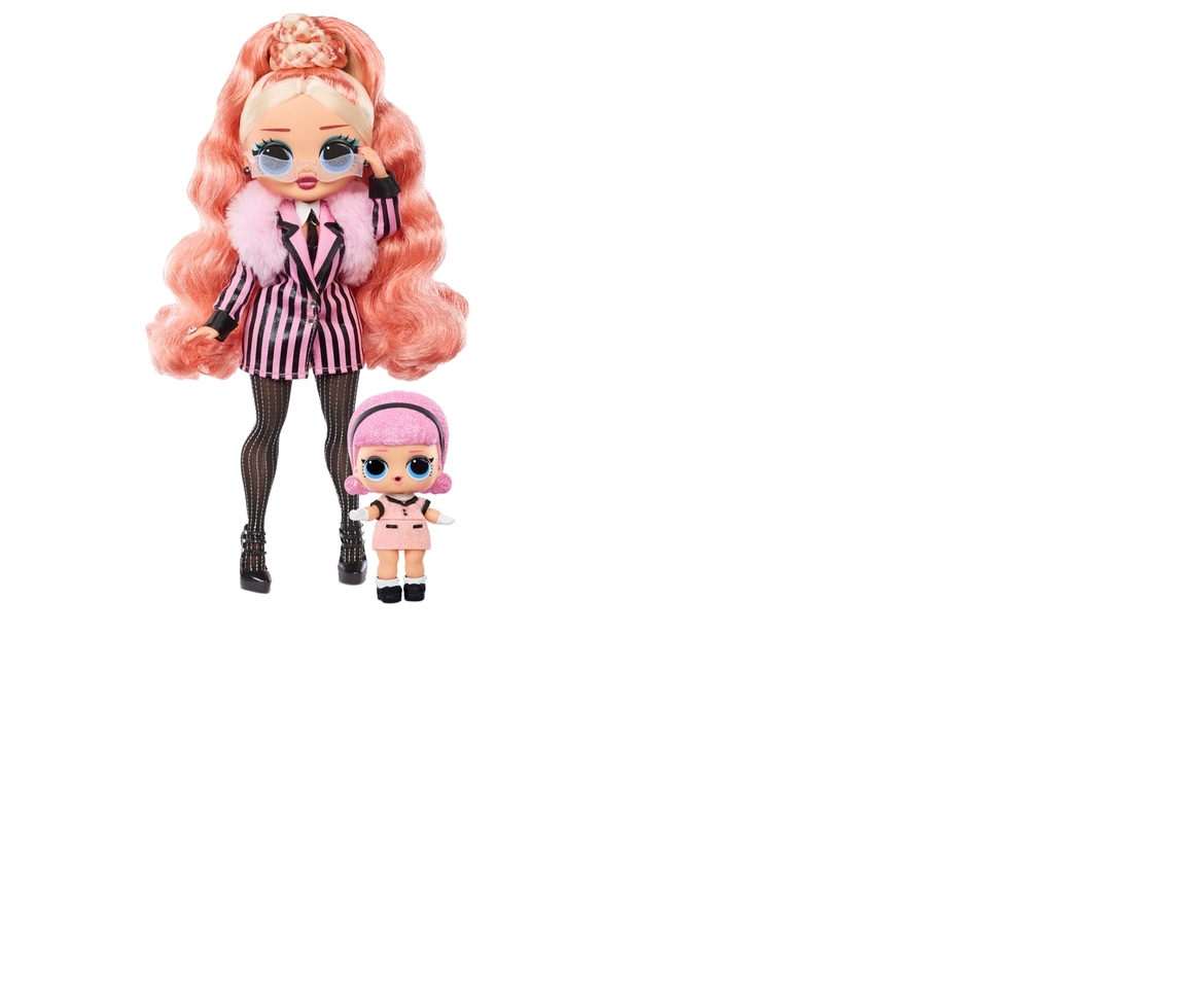 LOL Surprise OMG Winter Chill Big Wig Fashion Doll /& Madame Queen Doll