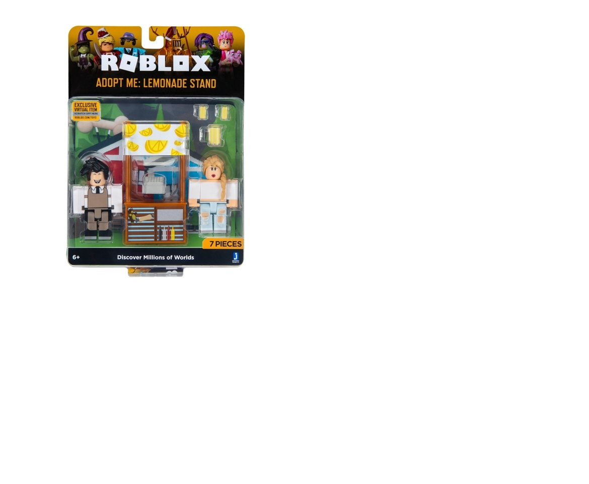 Includes Exclusive Virtual Item Roblox Celebrity Collection Adopt Me Lemonade Stand Game Pack